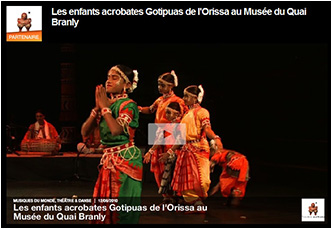 Video of Quai Branly museum performance